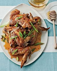 Honey-Chile Chicken Wings