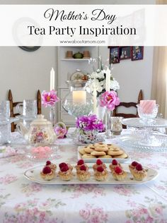 Mother's Day Tea Party Inspiration