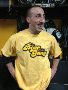 Brad's new shirt