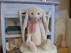 Primitive Spring Bunny Rabbit Shabby Style Soft by SReetzBears, $79.00