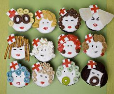 The Cupcake Company - Nurse Cupcakes