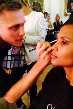 LFW: Backstage Beauty Round-Up - Hair & Make-Up (Vogue.com UK)