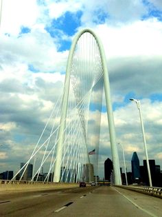 Margaret Hunt Hill Bridge, Dallas TX