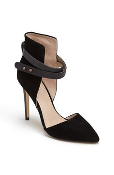 Black strap #heels #shoes