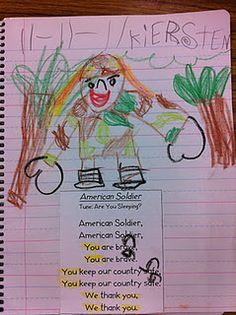 Veterans Day Poem for journal