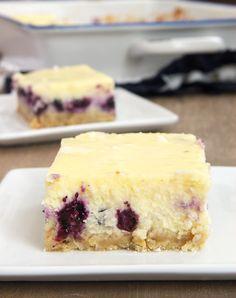 Blueberry-Oat Cheesecake Bars | Bake or Break