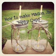 10 Amazing Mason Jar DIY Projects « Aimee Steckowski « FancyLittleThings.com