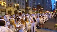 Our Garces Picnic Basket made it much easier to attend Diner en Blanc without having to decide what to buy, prepare and carry ($60 for two). READ RECAP of the Event -  Tinsel & Tine (Reel & Dine): Tulip Clothing Line and Diner en Blanc Philly