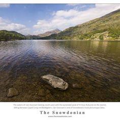 Llyn Gwynant, between Capel Curig and Beddgelert in Snowdonia