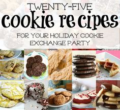 25 Cookie Recipes fo