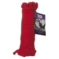 Bound to Tease 10m Bondage Rope. Tie up your lover with this soft bondage rope from Bound to Tease. Perfect to practice Shibari with or rest...