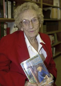 Mildred Wirt Benson wrote 23 of the 30 original Nancy Drew stories using the pseudonym Carolyn Keene. Paid $125 per book, she never collected any royalties.