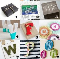 Link Love: Making It Personal with Monogram Crafts