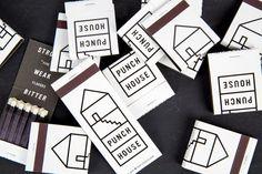 clean studio, logo, ident design, houses, dan blackman, identity design, restaurant branding, punch hous