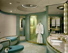 luxury bathrooms, plane, luxuri jet, dream, jet interior, interiors, luxury travel, private jets, privat jet