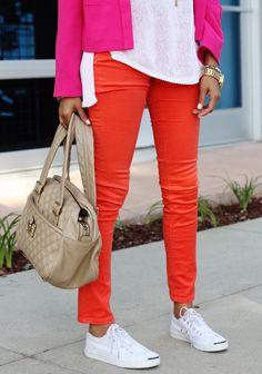 pink + orange = happiness