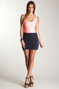 American Apparel - Interlock Mini Skirt