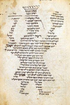 Carmina figurata, Prayer book, France 14th c.