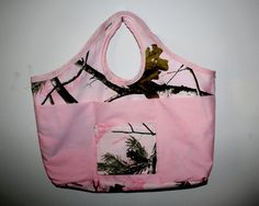 Daddy's Little Girl - Pink Camo Diaper Bag; Personalizable & Reversible;  by duehringphotocc, $13.00, 35% OFF  (Currently 5 Available)