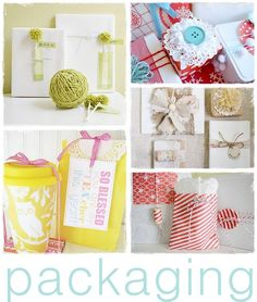 packaging...or gifts!