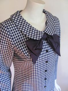 1960s Hounds tooth dress