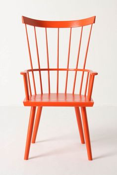orang, rocking chairs, dining chairs, color chair, armchairs, tradit armchair, accent chair, dining room chairs, bright colors