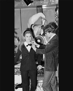 1966, Paris, France --- French actress Catherine Deneuve