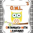 Are you loving the Owl Theme?? Here are some OWL-STANDING goodies to start your year!!  This packet includes:  -Editable  and Blank Desk Name tags ...