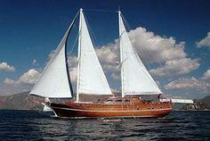 Ketch Sailboat