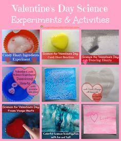 Valentine's Day Science Experiments & Activities (from Inspiration Laboratories)