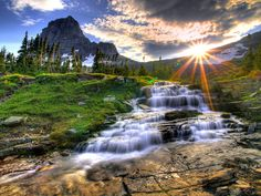 Logan Pass, Glacier National Park, Montana.  This will forever be home, no matter where I am.