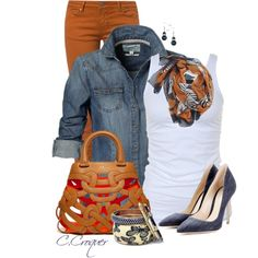 Casual Street Style, created by ccroquer on Polyvore