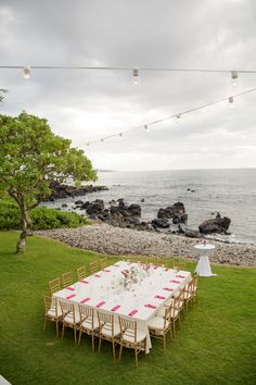 Maui wedding recepti