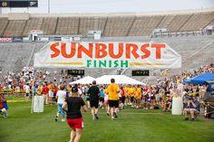 sunburst marathon, heart marathon