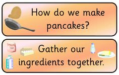 A selection of simple resources to support Pancake day within the classroom. Activities for basic number work and letter work plus a writing frame and items for display