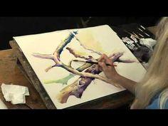 ▶ Hazel Soan's Watercolour Textures DVD | Jackson's Art Supplies - YouTube