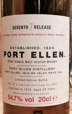 Port Ellen 7th Release 1979/2007 28yo 54.7%