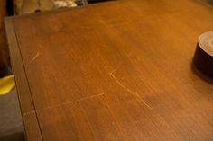 Fix Scratches in Wood - DIY Life