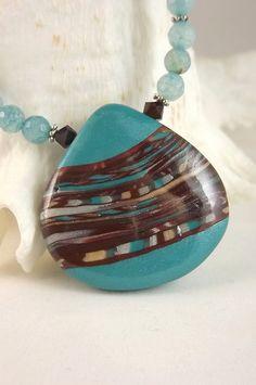 lovely stroppel cane pendant from LisaFE