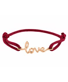 love bracelet with 14k gold and diamond detail :: sweet!