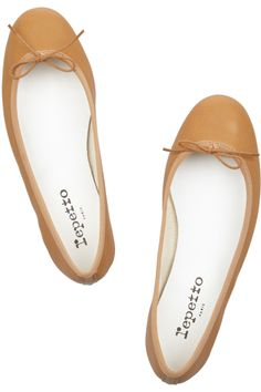Repetto BB lizard-effect leather ballet flats  $310