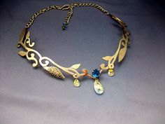 Beautiful Lady of the Woods necklace.