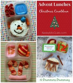 Gluten Free Advent Lunches!