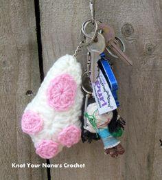 Lucky Rabbit Foot/Bunny Paw Applique « The Yarn Box The Yarn Box