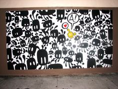 Miami Urban Street Art & Graffiti Part One: Artists Sever & Willow | Art Nectar