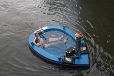 HotTug, floating hot tub from the nederlands