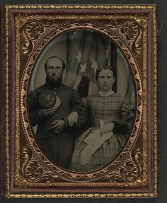 12th NEW HAMPSHIRE INFANTRY,unidentified couple  #scenesofnewenland #soNE #soNHhistory #soNH #NewHampshire #NH #history
