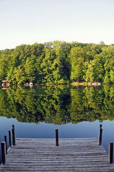 Lake House views.