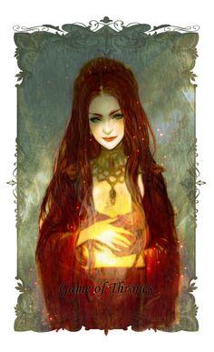 Melisandre of Asshai by J #agot #got #asoiaf