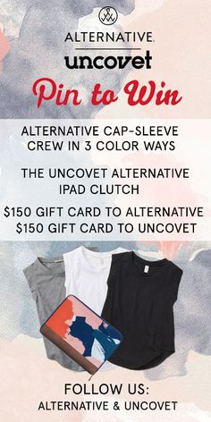 Pin to Win a fashion prize from Uncovet & Alternative.